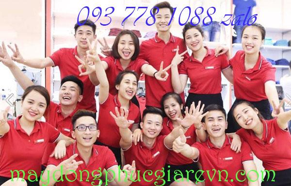 May đồng phục áo đồng tại Tiền Giang đẹp rẻ