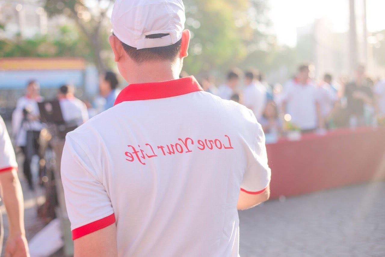 In May áo thun công ty quận 1 GIÁ RẺ - đồng phục