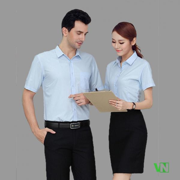 May đồng phục áo sơ mi giá rẻ - May đồng phục giá rẻ VN