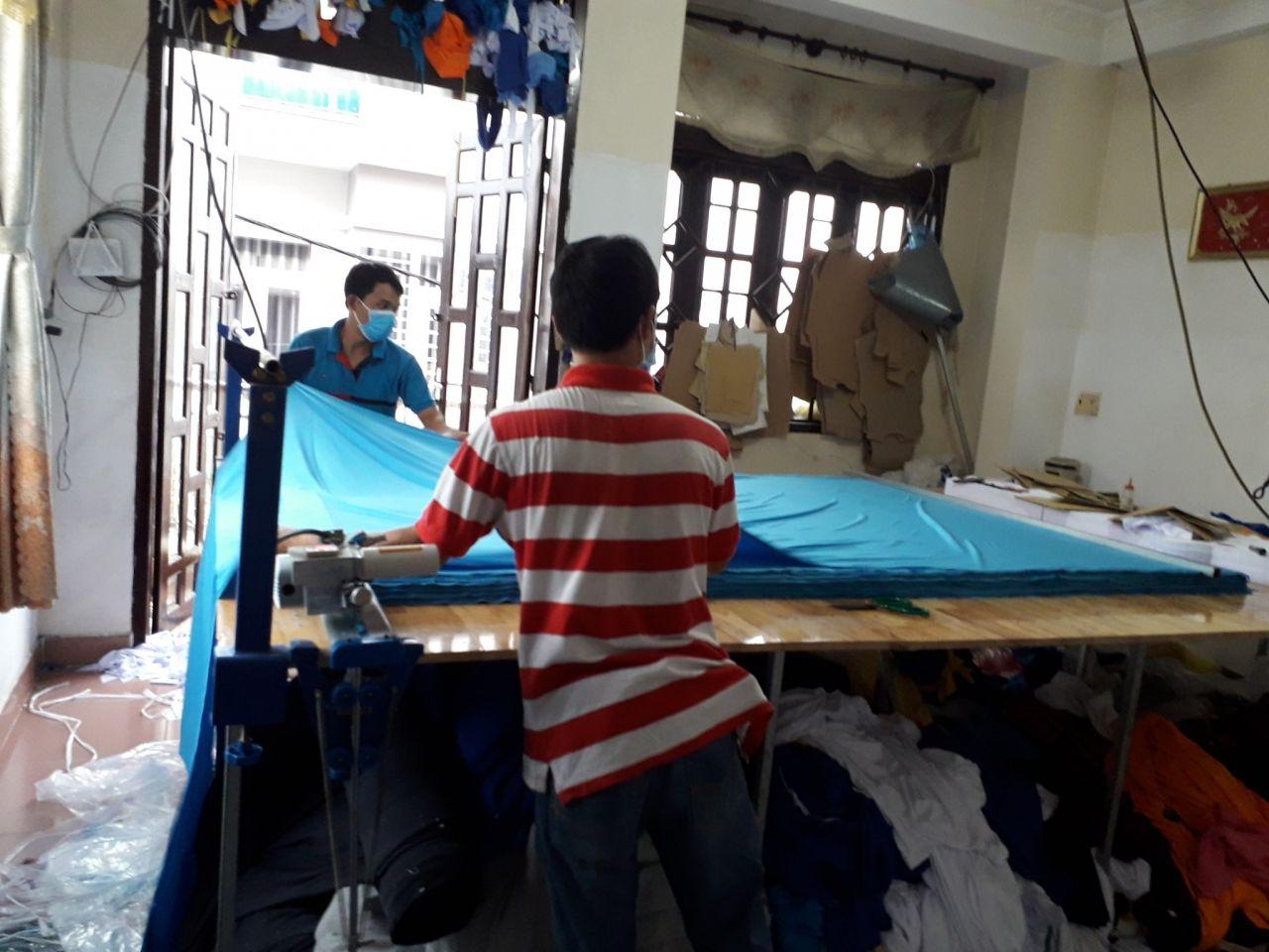 May đồng phục áo thun quận Bình Tân