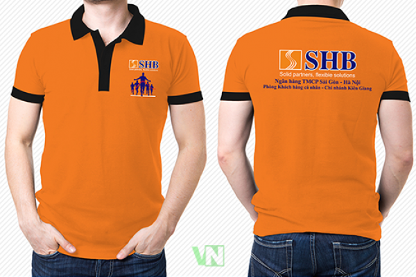 Đồng phục áo thun cổ bẻ SHB